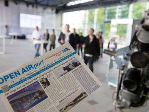 Eröffnung mit Tag der offenen Tür am Flughafen MGL