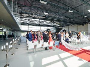 Hochzeiten im Hugo Junkers Hangar