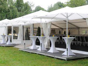 Wir können auch Zelt – und lokale Gastronomen coachen!