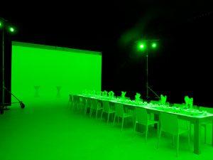 Kulinarische Farbwelten in 3 D